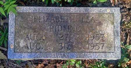 RIDLING, ELIZABETH LEA - Faulkner County, Arkansas | ELIZABETH LEA RIDLING - Arkansas Gravestone Photos