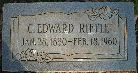 RIFFLE, C. EDWARD - Faulkner County, Arkansas | C. EDWARD RIFFLE - Arkansas Gravestone Photos