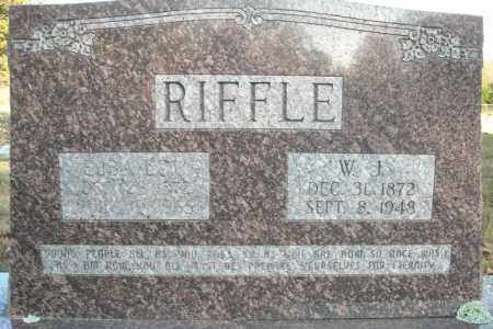 RIFFLE, W.J. - Faulkner County, Arkansas | W.J. RIFFLE - Arkansas Gravestone Photos