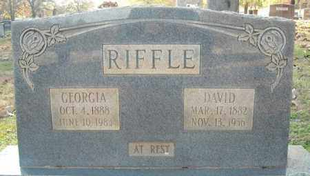 RIFFLE, DAVID - Faulkner County, Arkansas | DAVID RIFFLE - Arkansas Gravestone Photos