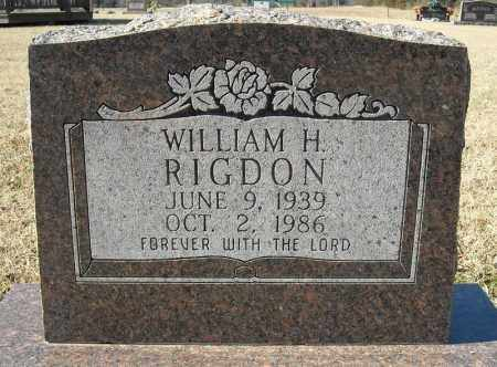 RIGDON, WILLIAM H. - Faulkner County, Arkansas | WILLIAM H. RIGDON - Arkansas Gravestone Photos