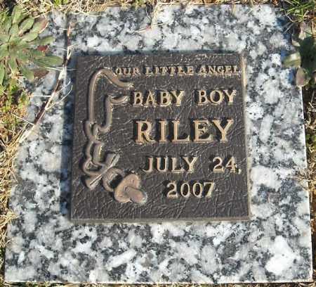 RILEY, BABY BOY - Faulkner County, Arkansas | BABY BOY RILEY - Arkansas Gravestone Photos