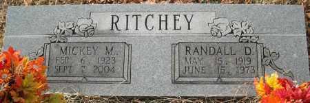 RITCHEY, MICKEY M. - Faulkner County, Arkansas | MICKEY M. RITCHEY - Arkansas Gravestone Photos