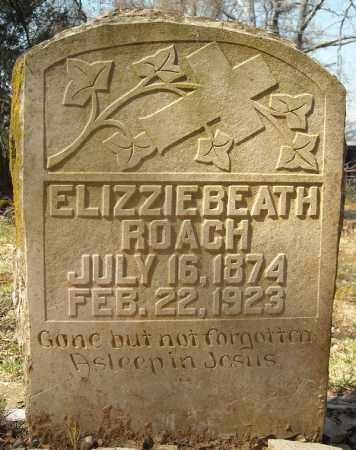 ROACH, ELIZZIEBEATH - Faulkner County, Arkansas | ELIZZIEBEATH ROACH - Arkansas Gravestone Photos