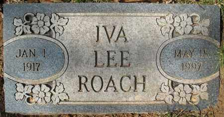 ROACH, IVA LEE - Faulkner County, Arkansas | IVA LEE ROACH - Arkansas Gravestone Photos