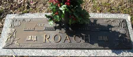 ROACH, JACK - Faulkner County, Arkansas | JACK ROACH - Arkansas Gravestone Photos