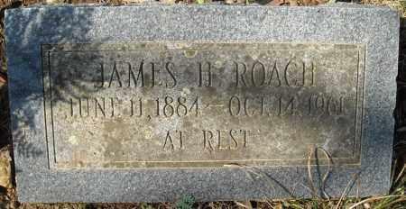 ROACH, JAMES H. - Faulkner County, Arkansas | JAMES H. ROACH - Arkansas Gravestone Photos