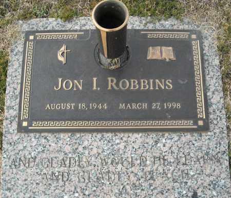 ROBBINS, JON I. - Faulkner County, Arkansas | JON I. ROBBINS - Arkansas Gravestone Photos