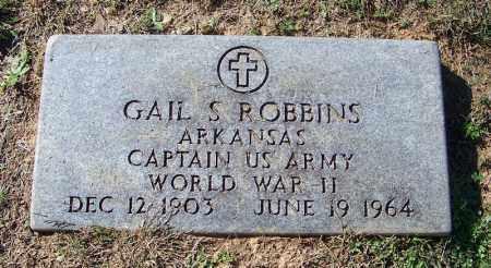 ROBBINS (VETERAN WWII), GAIL S - Faulkner County, Arkansas | GAIL S ROBBINS (VETERAN WWII) - Arkansas Gravestone Photos