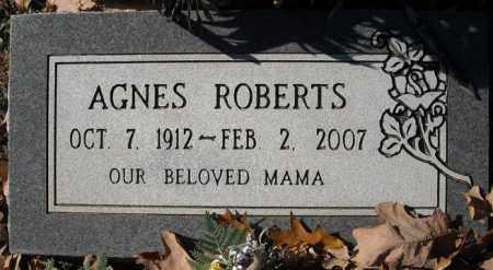 ROBERTS, AGNES - Faulkner County, Arkansas | AGNES ROBERTS - Arkansas Gravestone Photos