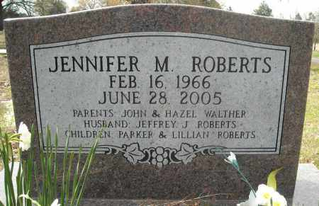 ROBERTS, JENNIFER MARIE - Faulkner County, Arkansas | JENNIFER MARIE ROBERTS - Arkansas Gravestone Photos