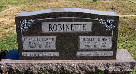 STRAIN ROBINETTE, CLARA ELIZABETH - Faulkner County, Arkansas   CLARA ELIZABETH STRAIN ROBINETTE - Arkansas Gravestone Photos