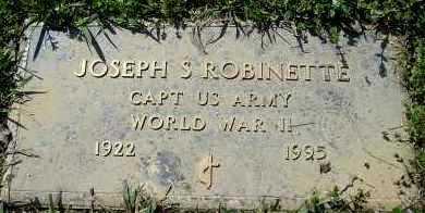ROBINETTE  (VETERAN WWII), JOSEPH S - Faulkner County, Arkansas | JOSEPH S ROBINETTE  (VETERAN WWII) - Arkansas Gravestone Photos