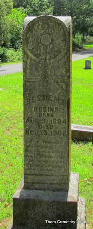 ROBINS, BESSIE M.B. - Faulkner County, Arkansas | BESSIE M.B. ROBINS - Arkansas Gravestone Photos
