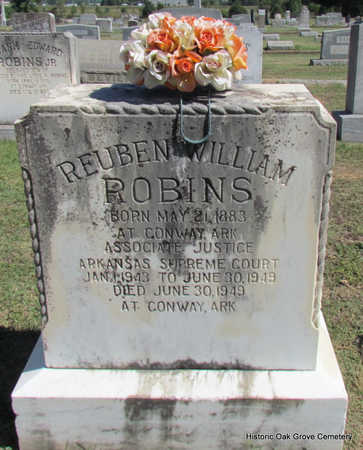 ROBINS, REUBEN WILLIAM (PUBLIC SERVANT) - Faulkner County, Arkansas | REUBEN WILLIAM (PUBLIC SERVANT) ROBINS - Arkansas Gravestone Photos