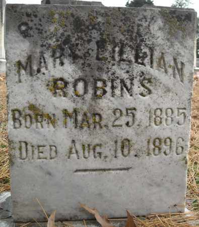 ROBINS, MARY LILLIAN - Faulkner County, Arkansas | MARY LILLIAN ROBINS - Arkansas Gravestone Photos