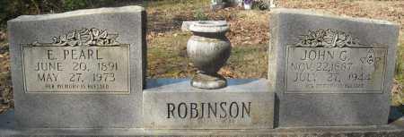 ROBINSON, JOHN G. - Faulkner County, Arkansas | JOHN G. ROBINSON - Arkansas Gravestone Photos