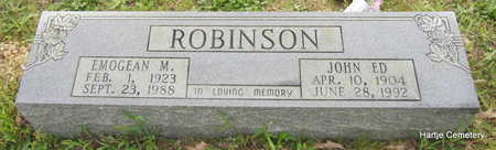 ROBINSON, JOHN ED - Faulkner County, Arkansas | JOHN ED ROBINSON - Arkansas Gravestone Photos