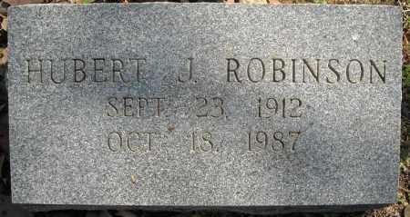 ROBINSON, HUBERT J. - Faulkner County, Arkansas | HUBERT J. ROBINSON - Arkansas Gravestone Photos
