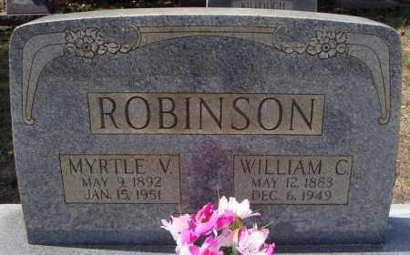 ROBINSON, MYRTLE V. - Faulkner County, Arkansas | MYRTLE V. ROBINSON - Arkansas Gravestone Photos
