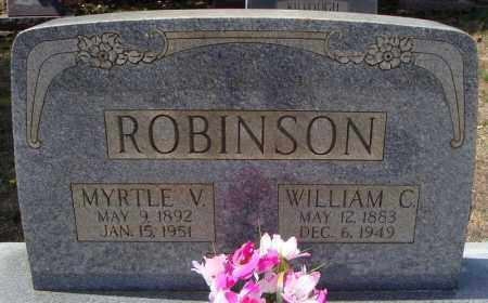 ROBINSON, WILLIAM C. - Faulkner County, Arkansas | WILLIAM C. ROBINSON - Arkansas Gravestone Photos