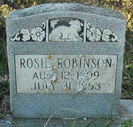 ROBINSON, ROSIE - Faulkner County, Arkansas | ROSIE ROBINSON - Arkansas Gravestone Photos