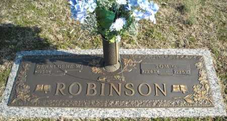 ROBINSON, TOM G. - Faulkner County, Arkansas | TOM G. ROBINSON - Arkansas Gravestone Photos