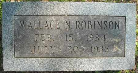 ROBINSON, WALLACE N. - Faulkner County, Arkansas | WALLACE N. ROBINSON - Arkansas Gravestone Photos