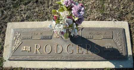 RODGERS, TED W. - Faulkner County, Arkansas | TED W. RODGERS - Arkansas Gravestone Photos