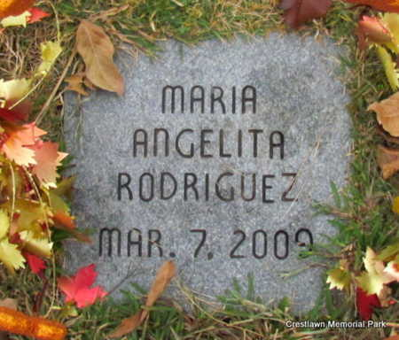 RODRIGUEZ (INFANT SECT #2), MARIA ANGELITA - Faulkner County, Arkansas | MARIA ANGELITA RODRIGUEZ (INFANT SECT #2) - Arkansas Gravestone Photos