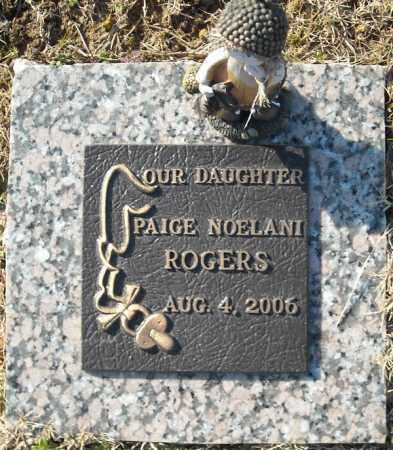 ROGERS, PAIGE NOELANI - Faulkner County, Arkansas | PAIGE NOELANI ROGERS - Arkansas Gravestone Photos