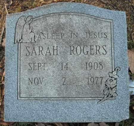 ROGERS, SARAH - Faulkner County, Arkansas | SARAH ROGERS - Arkansas Gravestone Photos