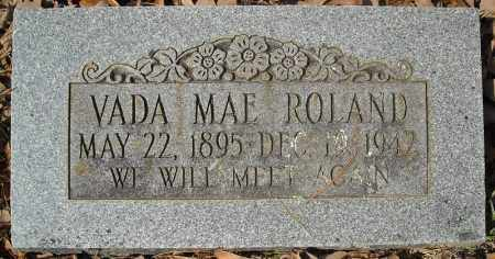 ROLAND, VADA MAE - Faulkner County, Arkansas | VADA MAE ROLAND - Arkansas Gravestone Photos