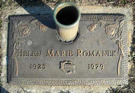 ROMANEK, HELEN MARIE - Faulkner County, Arkansas | HELEN MARIE ROMANEK - Arkansas Gravestone Photos
