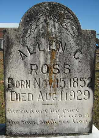 ROSS, ALLEN C. - Faulkner County, Arkansas | ALLEN C. ROSS - Arkansas Gravestone Photos