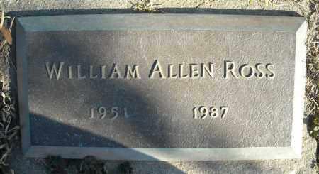 ROSS, WILLIAM ALLEN - Faulkner County, Arkansas | WILLIAM ALLEN ROSS - Arkansas Gravestone Photos