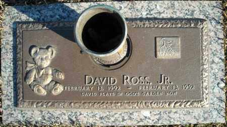 ROSS, JR., DAVID - Faulkner County, Arkansas | DAVID ROSS, JR. - Arkansas Gravestone Photos