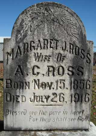 ROSS, MARGARET J. - Faulkner County, Arkansas | MARGARET J. ROSS - Arkansas Gravestone Photos