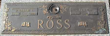 ROSS, WILLIAM T. - Faulkner County, Arkansas | WILLIAM T. ROSS - Arkansas Gravestone Photos
