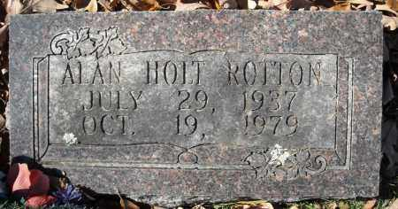 ROTTON, ALAN HOLT - Faulkner County, Arkansas | ALAN HOLT ROTTON - Arkansas Gravestone Photos