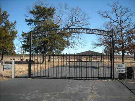 *ROUND MOUNTAIN CEMETERY GATE,  - Faulkner County, Arkansas |  *ROUND MOUNTAIN CEMETERY GATE - Arkansas Gravestone Photos