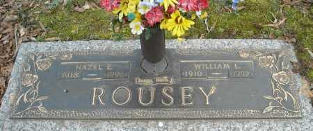 ROUSEY, WILLIAM L. - Faulkner County, Arkansas | WILLIAM L. ROUSEY - Arkansas Gravestone Photos