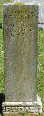 RUDAZ, FRANCOIS - Faulkner County, Arkansas | FRANCOIS RUDAZ - Arkansas Gravestone Photos
