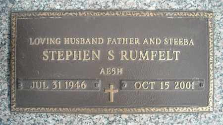 RUMFELT, STEPHEN S. - Faulkner County, Arkansas | STEPHEN S. RUMFELT - Arkansas Gravestone Photos