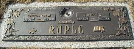 RUPLE, LUCILLE G. - Faulkner County, Arkansas | LUCILLE G. RUPLE - Arkansas Gravestone Photos