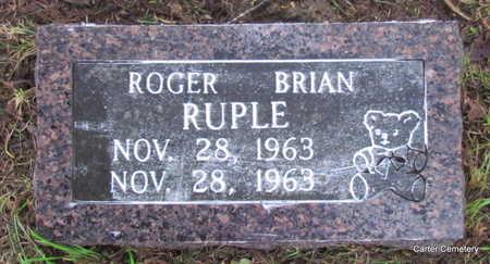 RUPLE, ROGER BRIAN - Faulkner County, Arkansas | ROGER BRIAN RUPLE - Arkansas Gravestone Photos