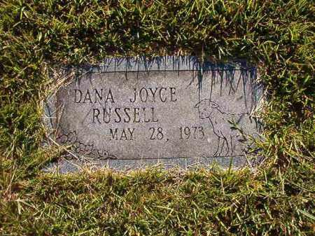 RUSSELL, DANA JOYCE - Faulkner County, Arkansas | DANA JOYCE RUSSELL - Arkansas Gravestone Photos