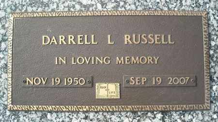 RUSSELL, DARRELL L. - Faulkner County, Arkansas | DARRELL L. RUSSELL - Arkansas Gravestone Photos