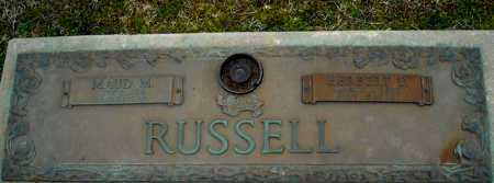 RUSSELL, HERBERT D. - Faulkner County, Arkansas | HERBERT D. RUSSELL - Arkansas Gravestone Photos