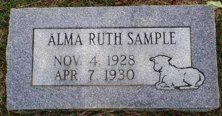 SAMPLE, ALMA RUTH - Faulkner County, Arkansas | ALMA RUTH SAMPLE - Arkansas Gravestone Photos